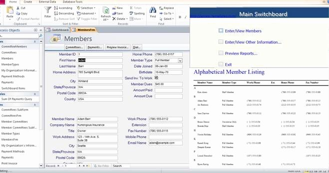 Access Customer Database Template Best Of Microsoft Access 2010 Templates In Access Database