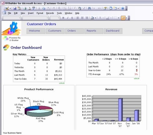 Access Customer Database Template Best Of Microsoft Access Templates