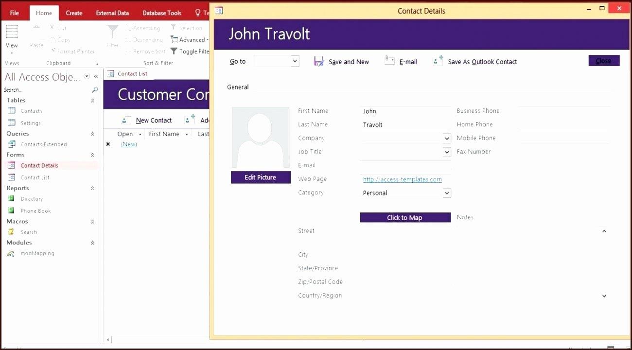 Access Customer Database Template Elegant Customer Database Template Access – Spreadsheet Template