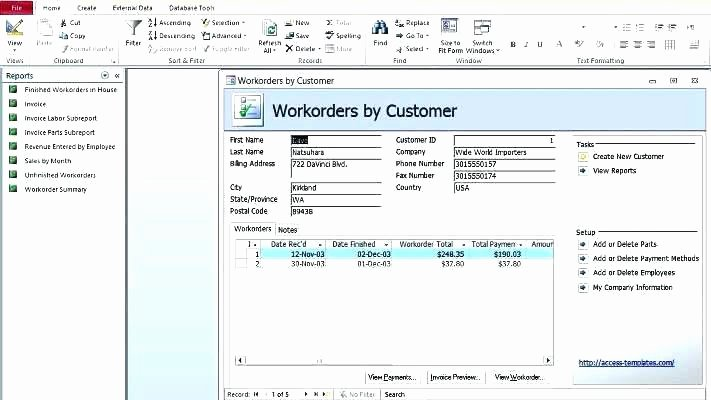 Access Customer Database Template Elegant Excel Customer Database Template Download Client In Access
