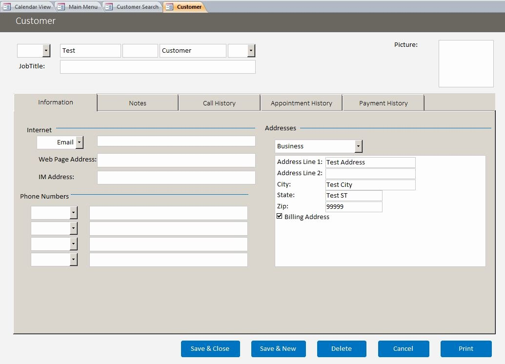 Access Customer Database Template Inspirational 26 Of Outlook Labor Tracking Template