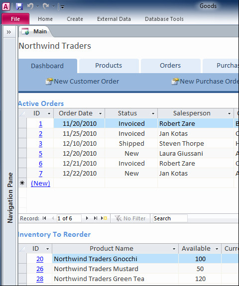 Access Customer Database Template New Ms Access Templates