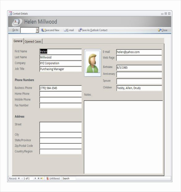 Access Customer Database Template Unique Access Inventory Templates – 16 Free Sample Example