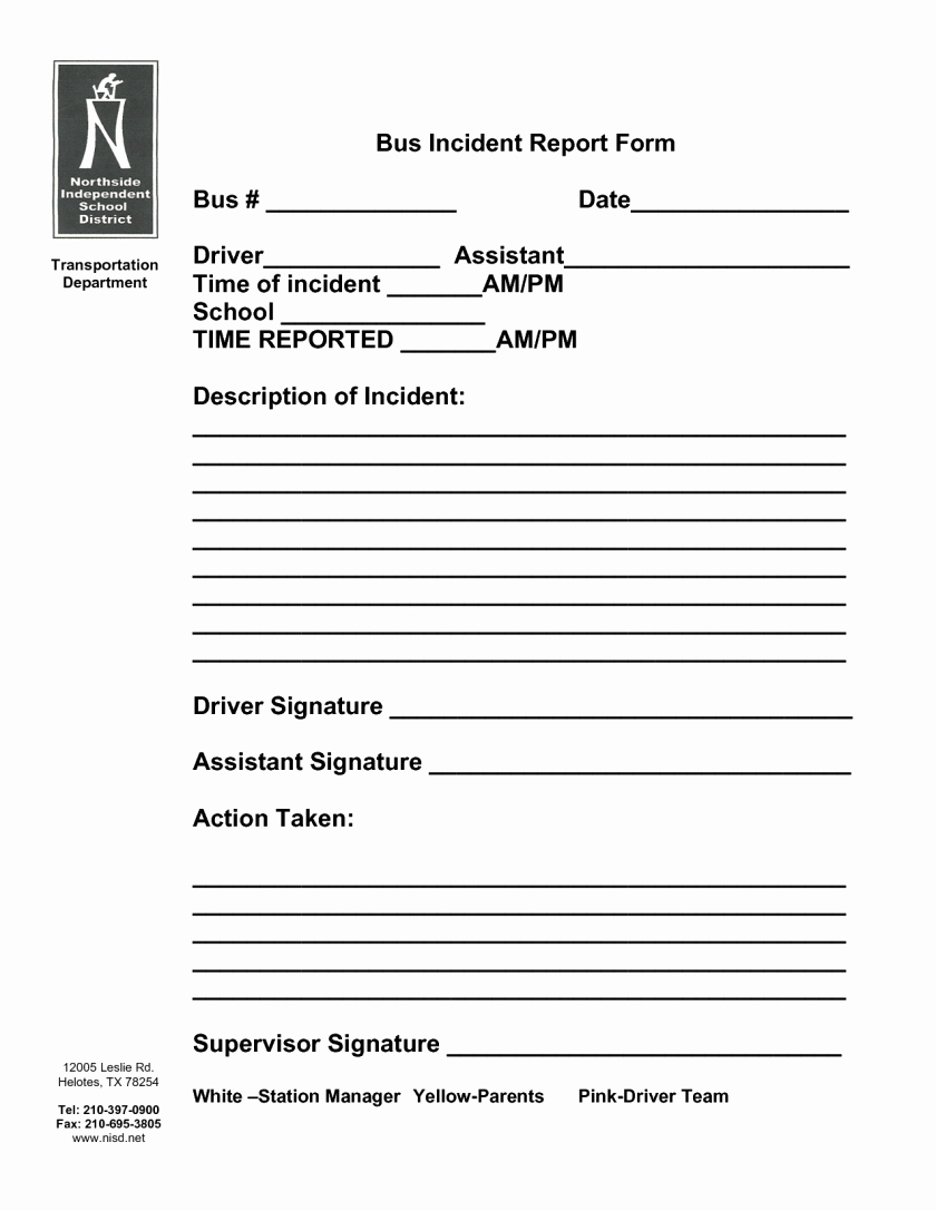 Accident Report forms Template New School Accident Report form Template Englishinb Sample