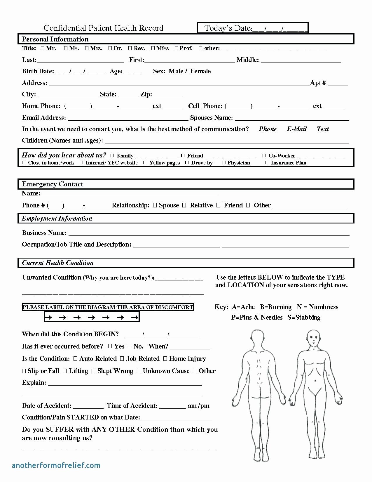 Accident Reporting form Template Lovely Medical Incident Report form Template