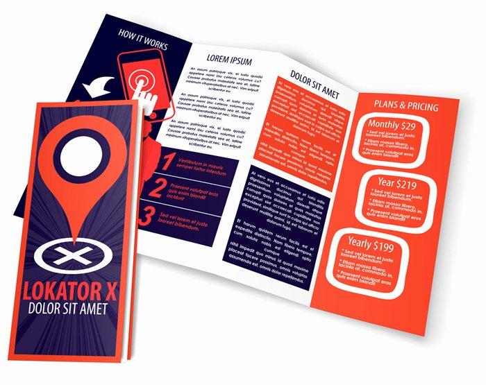 Accordion Fold Brochure Template New 4 Panel 14 X 8 5 Accordion Fold Brochure Mockup Set