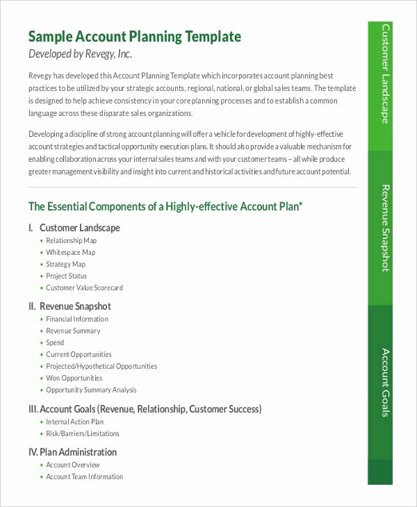 Account Management Plan Template Beautiful Account Management Plan Template 13 Facts that Nobody told