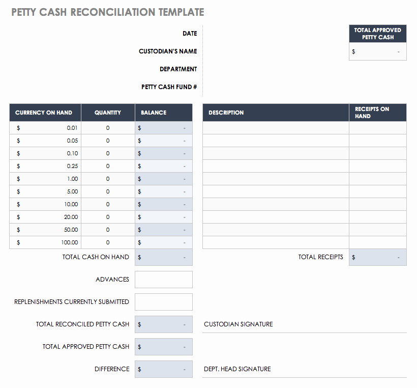 Account Reconciliation Template Excel Lovely Free Account Reconciliation Templates