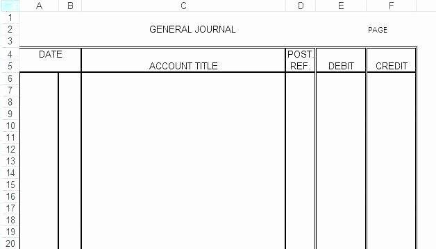 Accounting Journal Entries Template Awesome Accounting Journal Template – Marginesfo