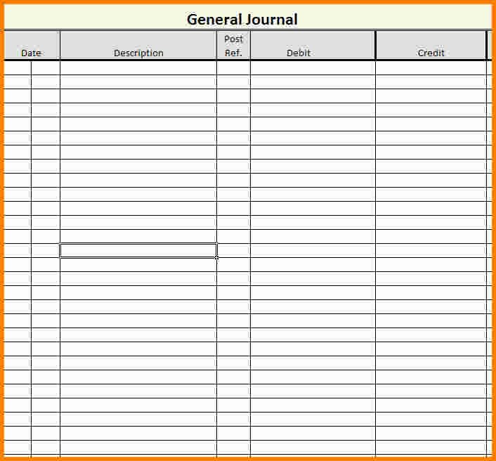 Accounting Journal Entries Template Awesome Accounting Journal Template Templates Data