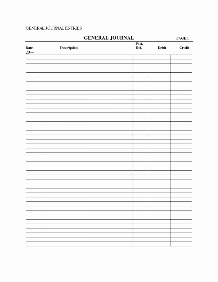 Accounting Journal Entries Template Awesome Double Entry Accounting Spreadsheet