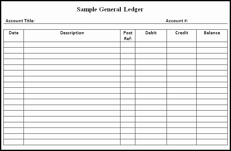 Accounting Journal Entries Template Inspirational General Ledger format In Excel Free Download New 20 Lovely