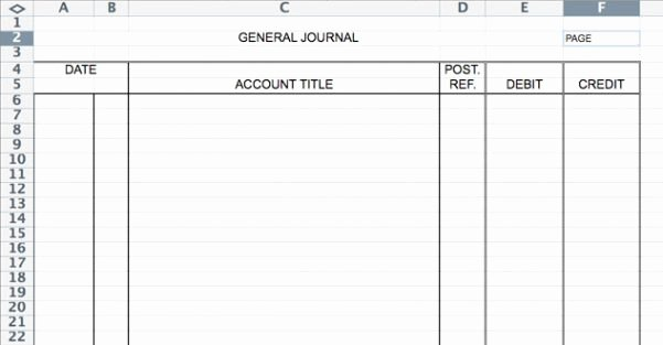 Accounting Journal Entry Template Awesome Accounting Journal Template Accounting Spreadsheet
