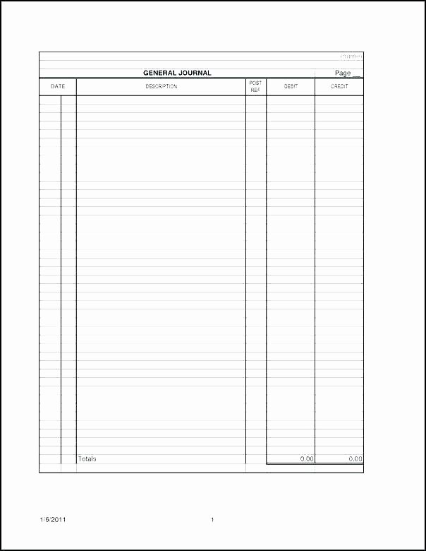 Accounting Journal Entry Template Awesome Free Printable Check Register Full Accounting Ledger