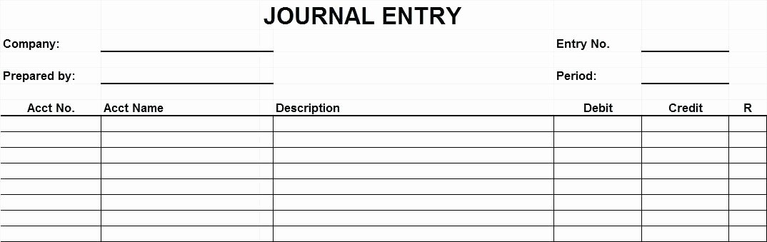 Accounting Journal Entry Template Beautiful Journal Entry form Accounting Template Excel – Akronteachfo