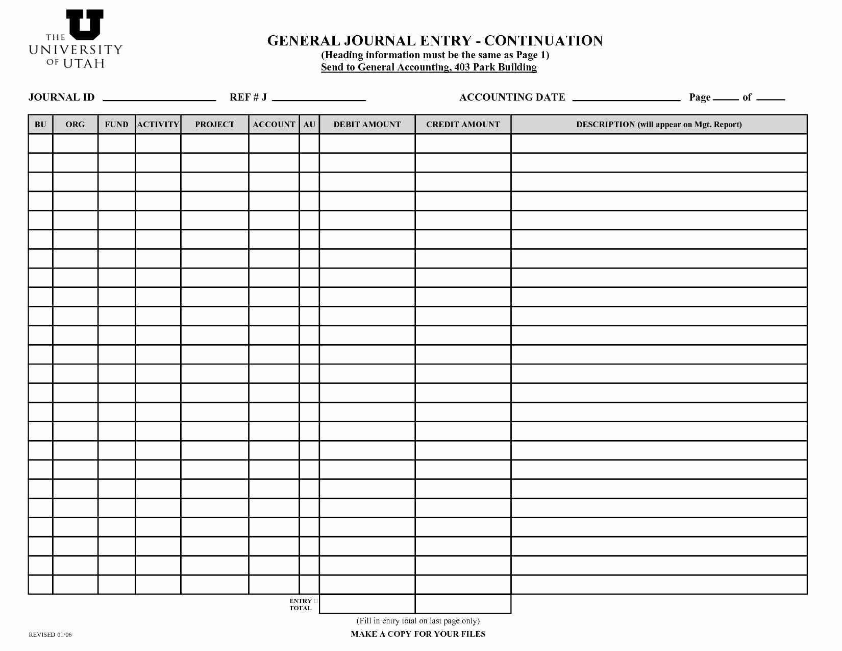 Accounting Journal Entry Template Unique Outstanding Accounting Journal Entry Template Sketch