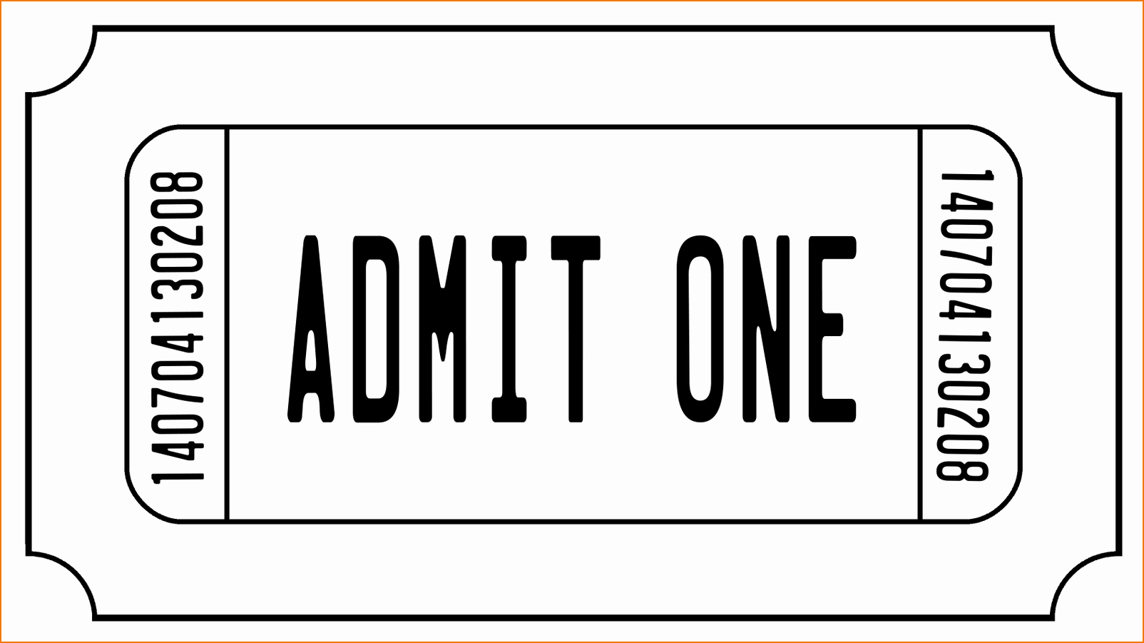 Admission Ticket Template Free Awesome 6 Ticket Templates