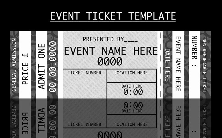 41 inspiring templates of admission ticket