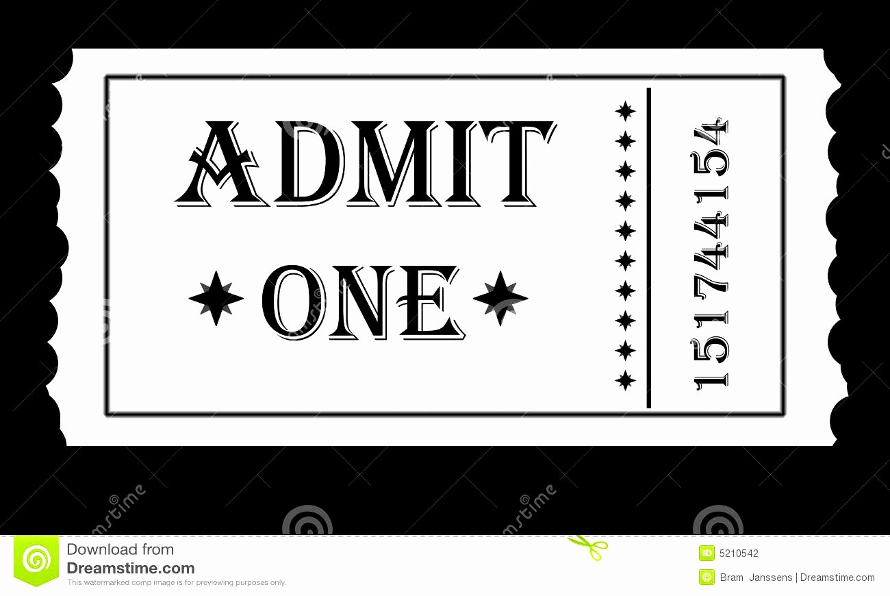 Admission Ticket Template Free Luxury Admit E Ticket Template Example Mughals