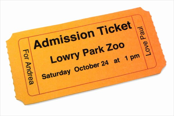 Admission Ticket Template Free New 8 Admission Ticket Templates Free Psd Ai Vector Eps