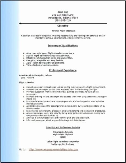 Airline Pilot Resume Template Fresh south West Airlines Ramp Agent