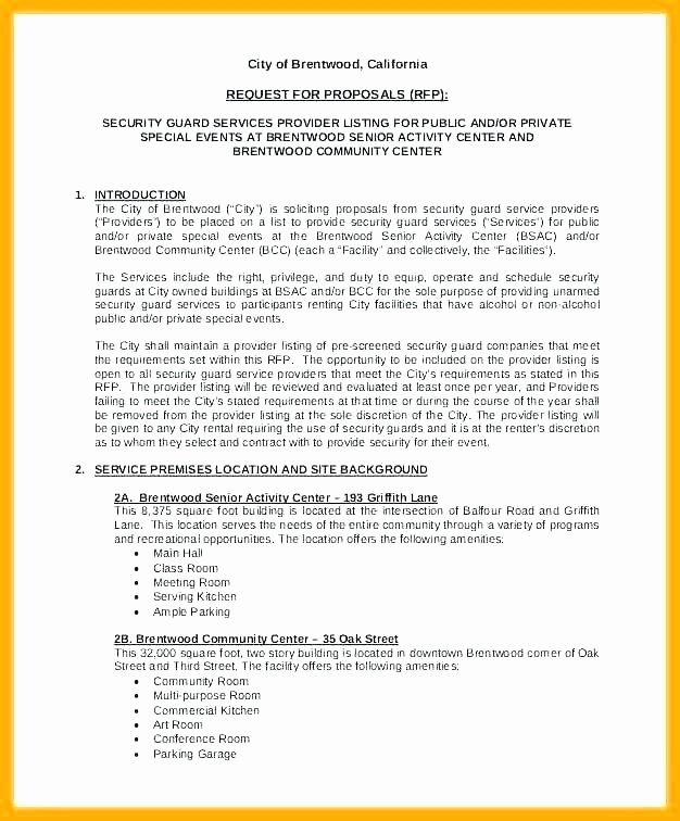 Alarm Monitoring Contract Template Awesome Accounting Proposal Letter Sample Unique Contract Template