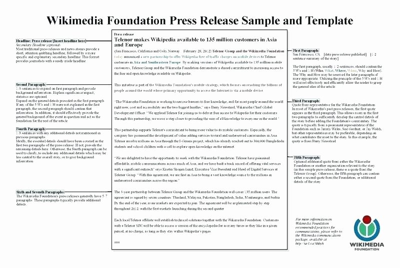 Album Press Release Template Beautiful Band Press Release Template Media Release format Press