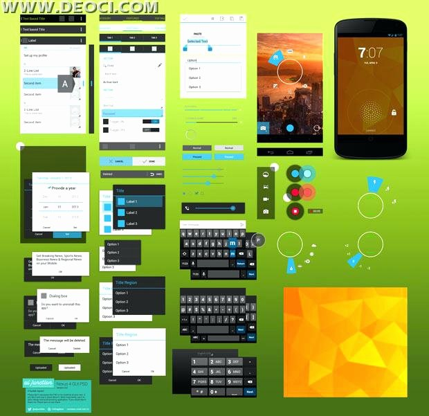 Android App Design Template Elegant Material Design android Template theme App Studio