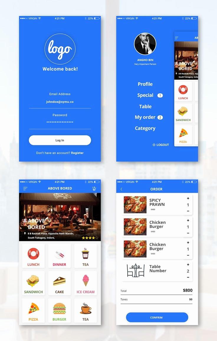 Android App Design Template Fresh 294 Melhores Imagens De Creative Designs Idea Free No