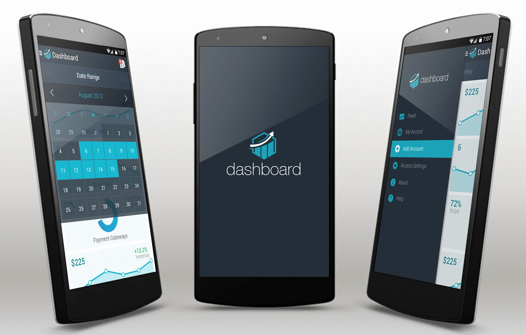 Android App Design Template Luxury Dashboard android App Template