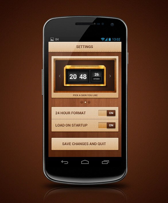 Android App Design Template New 41 android App Designs with Beautiful Interface