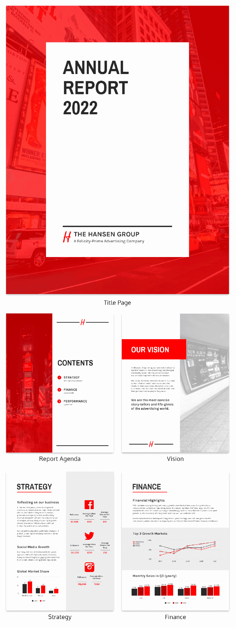 Annual Financial Report Template Elegant 50 Customizable Annual Report Design Templates Examples