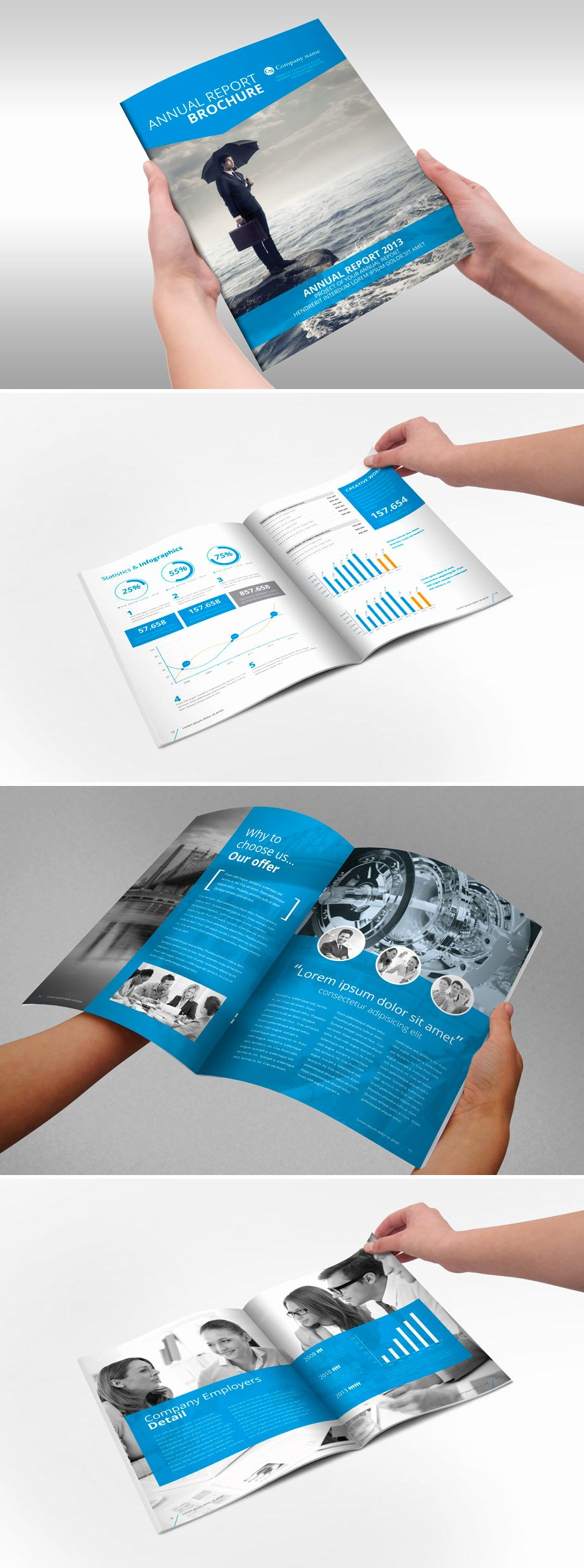 Annual Financial Report Template Elegant A Showcase Of Annual Report Brochure Designs to Check Out