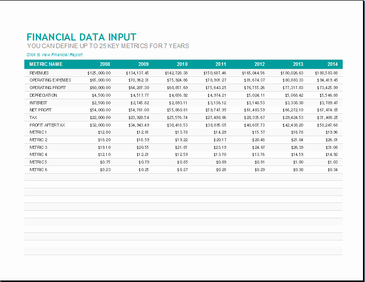 Annual Financial Report Template Fresh Monthly Financial Report Template Excel Spreadsheet