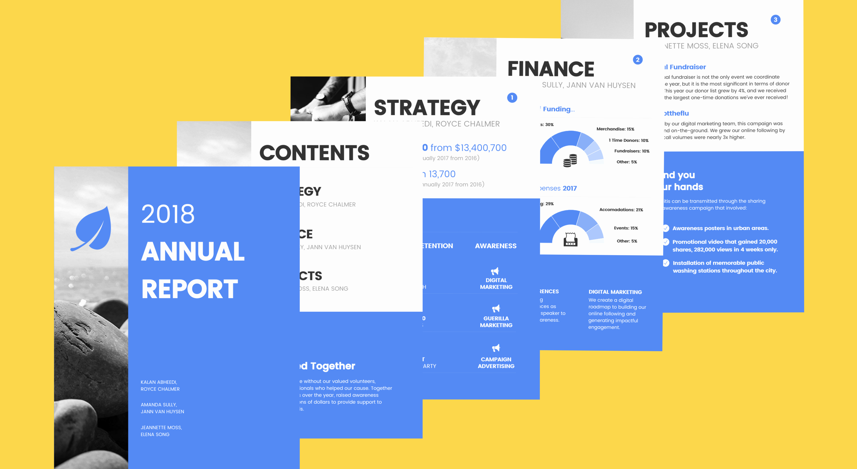 Annual Financial Report Template Inspirational Venngage Free Infographic Maker