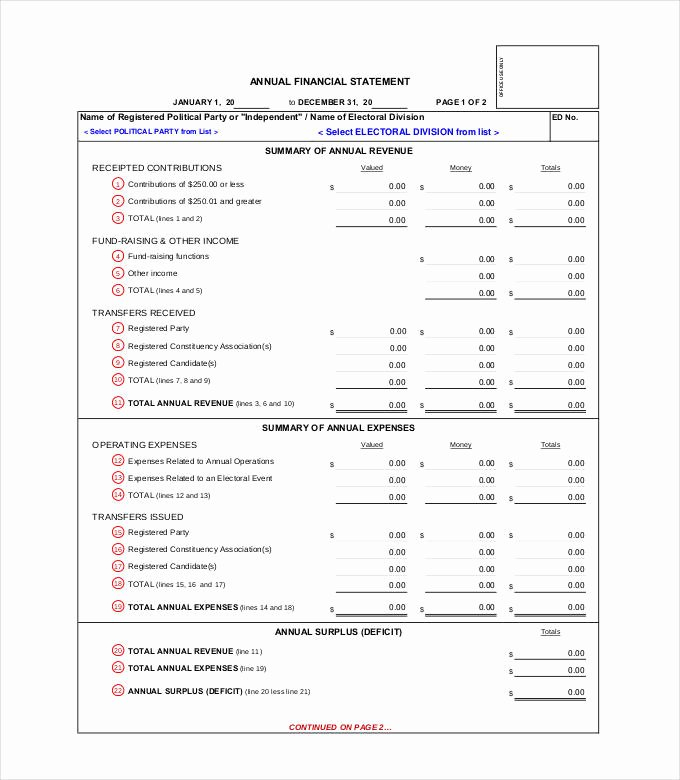 Annual Financial Report Template Lovely 27 Financial Statement Templates Pdf Doc