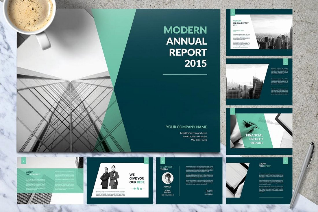 Annual Financial Report Template Luxury 30 Annual Report Templates Word & Indesign 2019