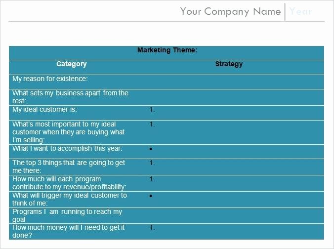 Annual Marketing Calendar Template Awesome Annual Marketing Plan Template – Azserverfo