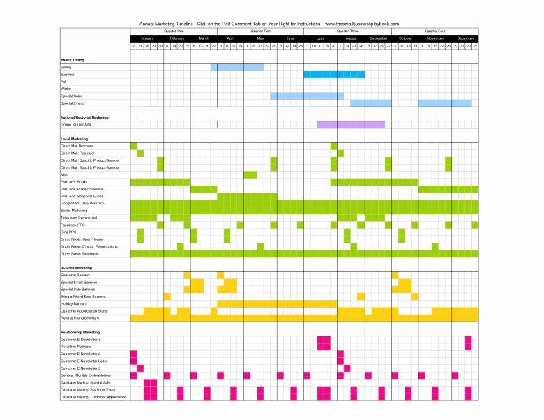 Annual Marketing Calendar Template New Annual Marketing Calendar Template Free Calendar Template