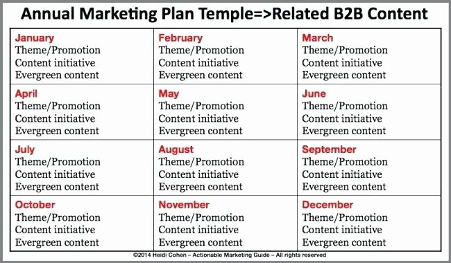 Annual Marketing Plan Template Lovely Annual Marketing Plan Template – Azserverfo