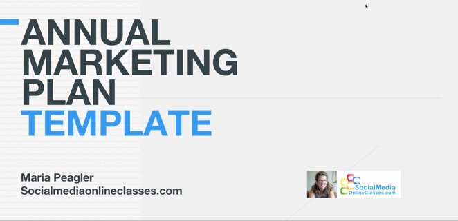 Annual Marketing Plan Template Lovely Browse Classes social Media Line Classes