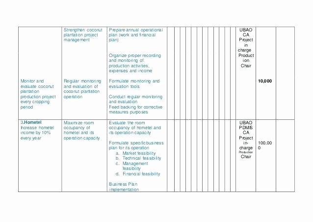 Annual Operating Plan Template Unique Awesome Business Operating Plan Template