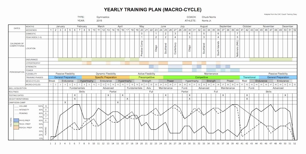 Annual Training Plan Template Fresh Yearly Training Plan Template Excel Best Photos Of