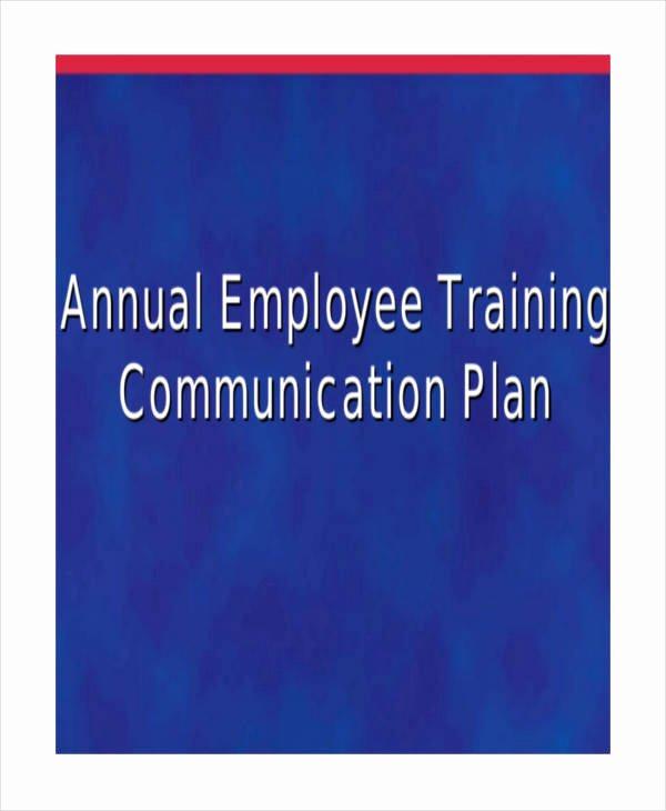 Annual Training Plan Template Luxury 5 Employee Training Plan Templates Free Samples