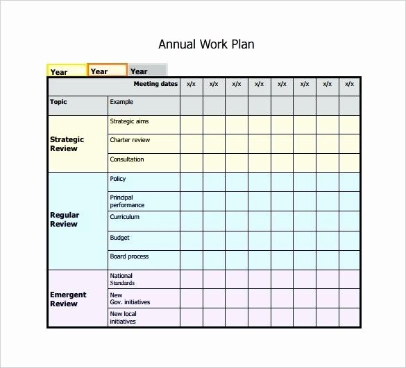 Annual Training Plan Template New Usmc Annual Training Plan