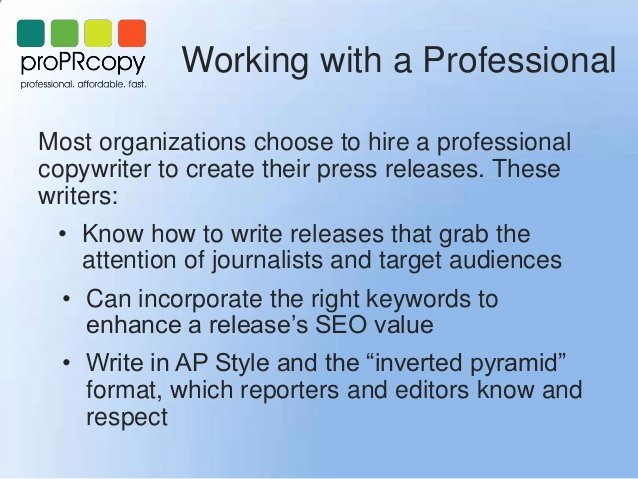 Ap Style Press Release Template Elegant Press Releases In the Digital Age