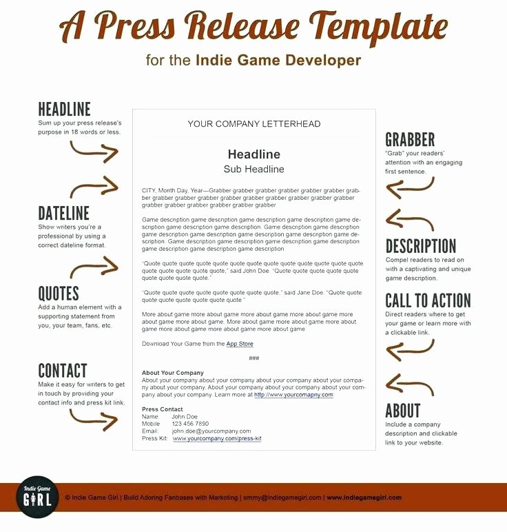 Ap Style Press Release Template Inspirational Image Titled Write A Press Release Step 6 format Ap Style