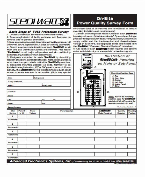Apartment Market Survey Template Best Of 54 Printable Survey forms