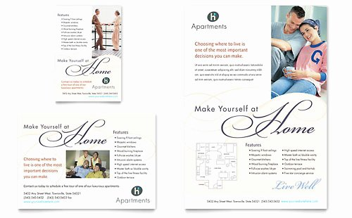 Apartment Marketing Plan Template Inspirational Real Estate Agent Print Ad Templates