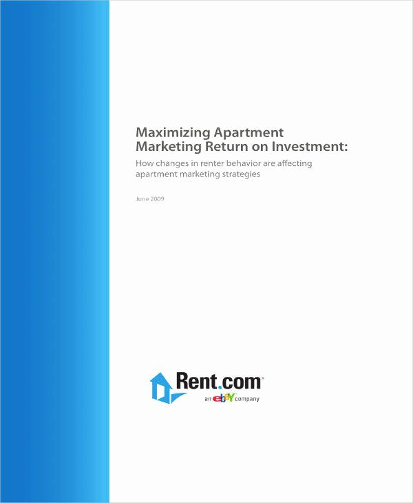 Apartment Marketing Plan Template Lovely 5 Apartment Marketing Plan Templates Pdf